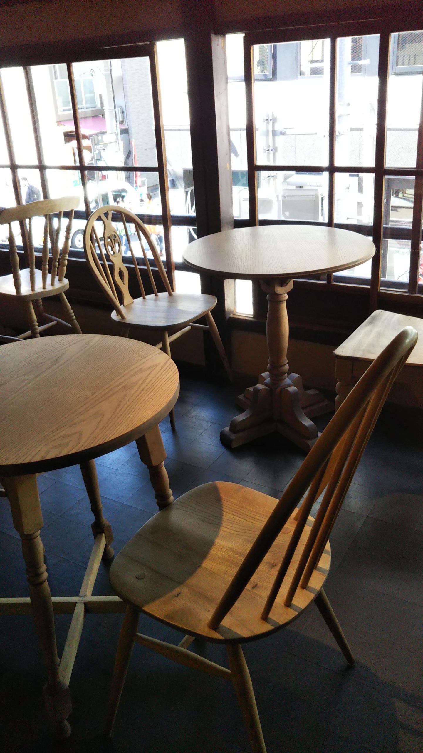 フルボトルコーヒー 店内