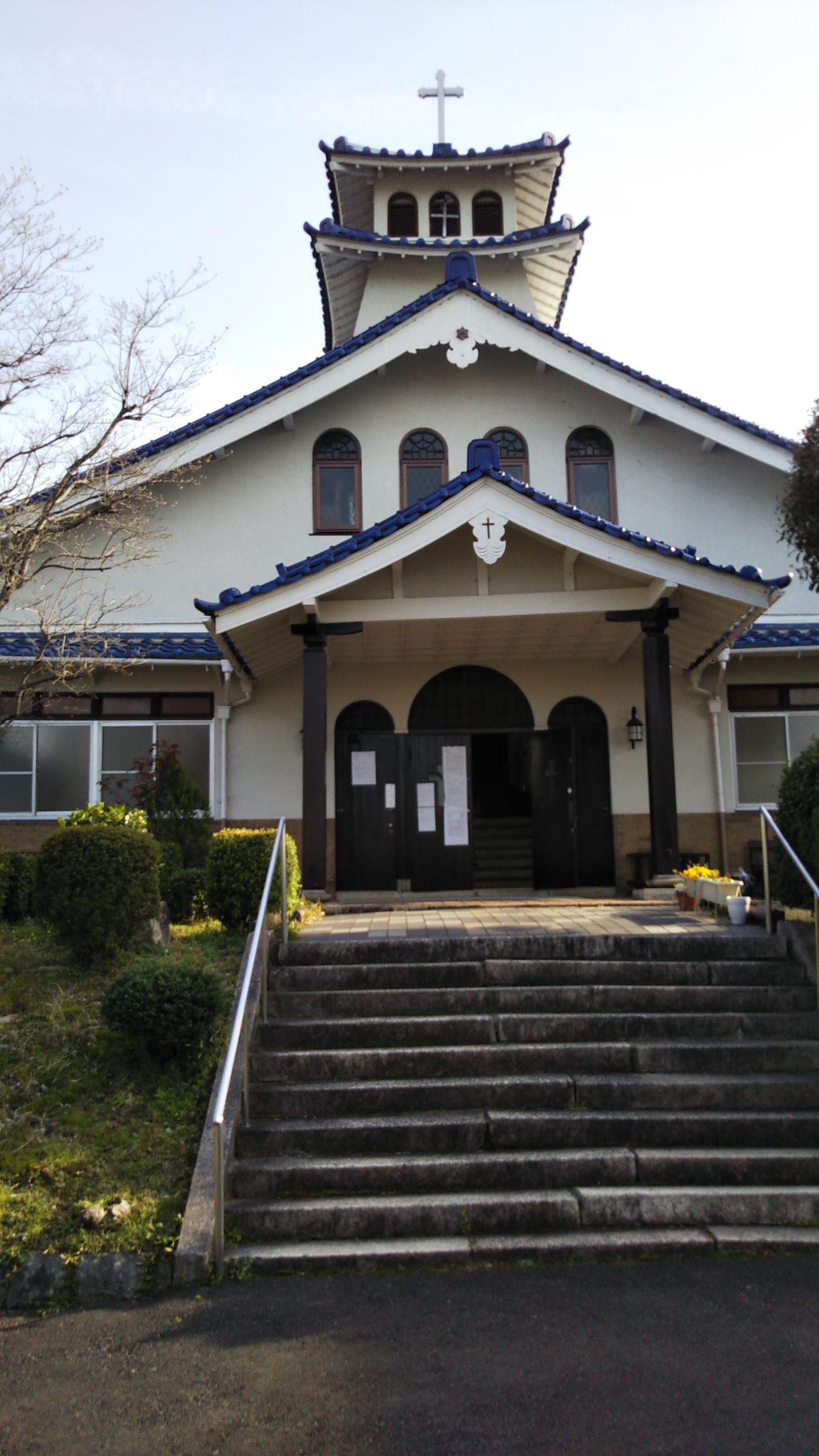 カトリック大津教会 外観