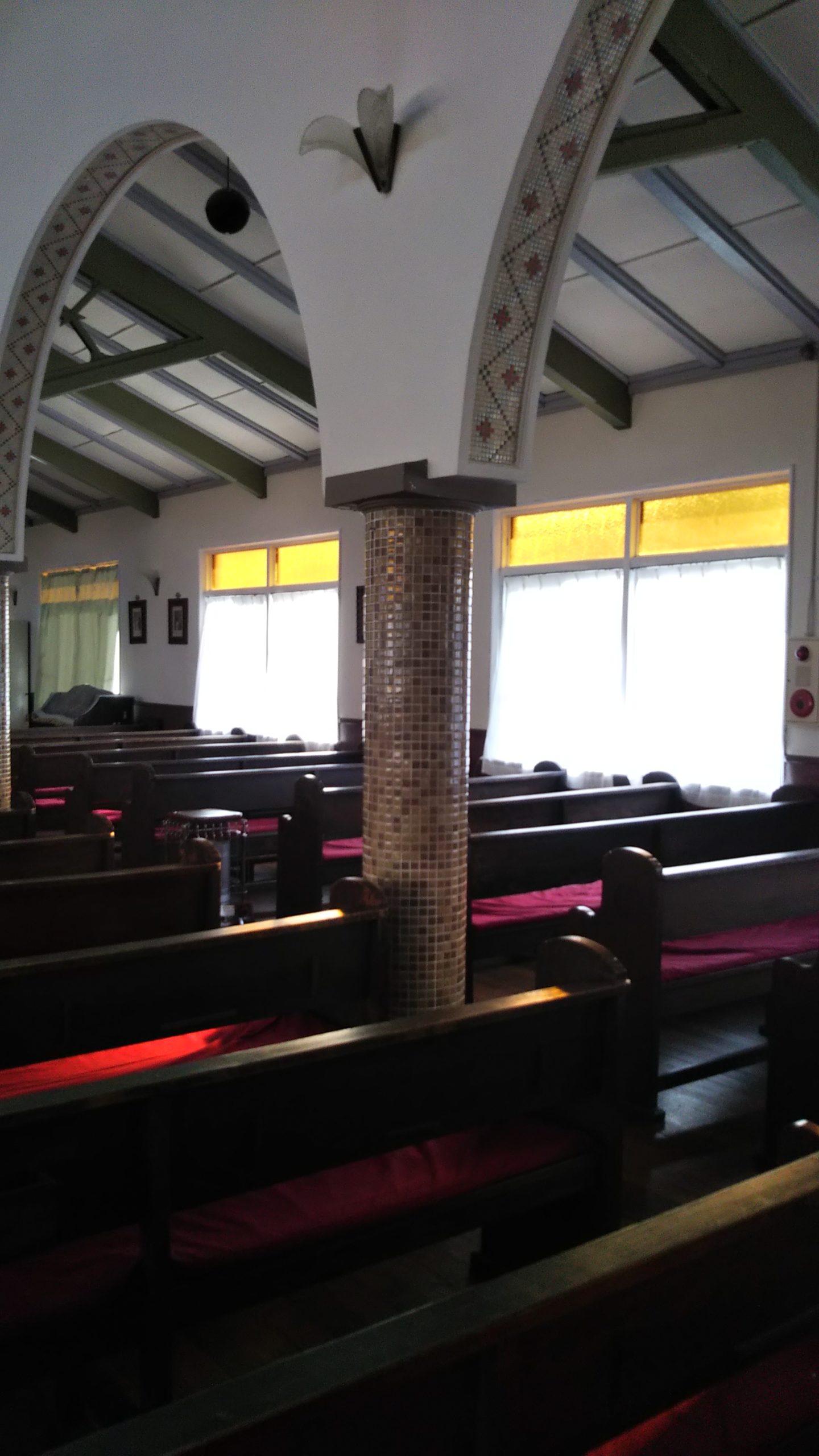 カトリック大津教会 タイル3