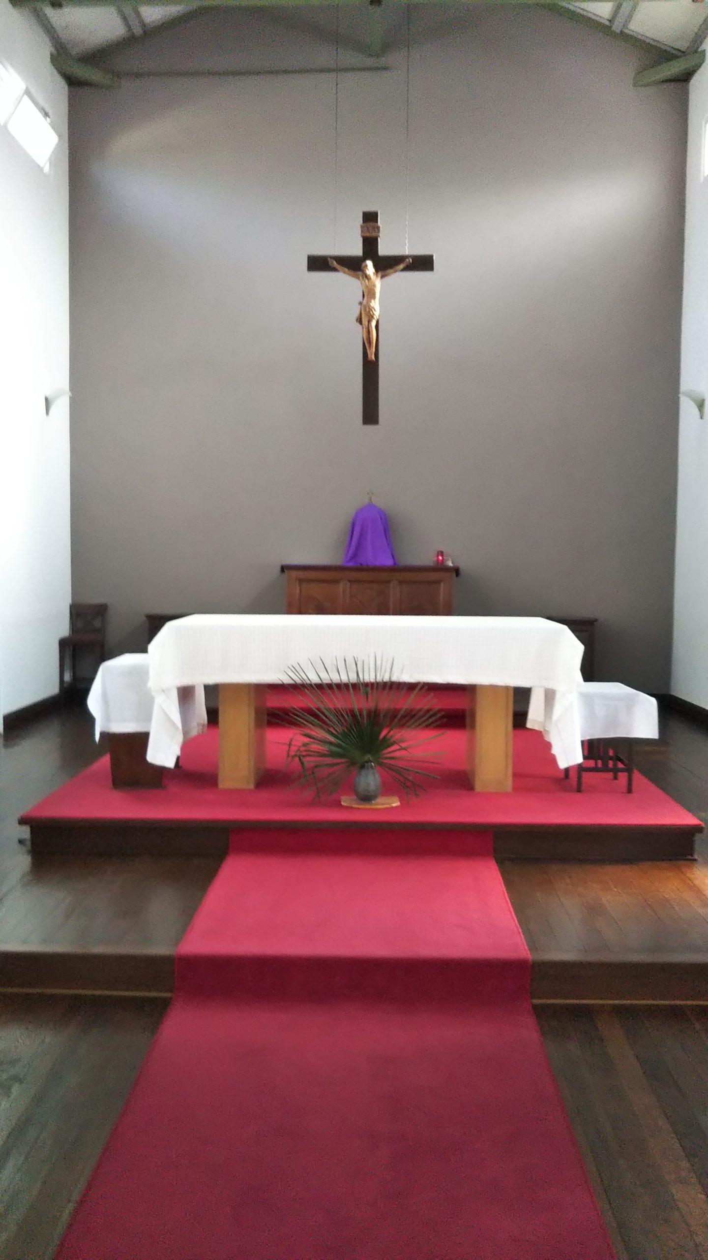 カトリック大津教会 祭壇