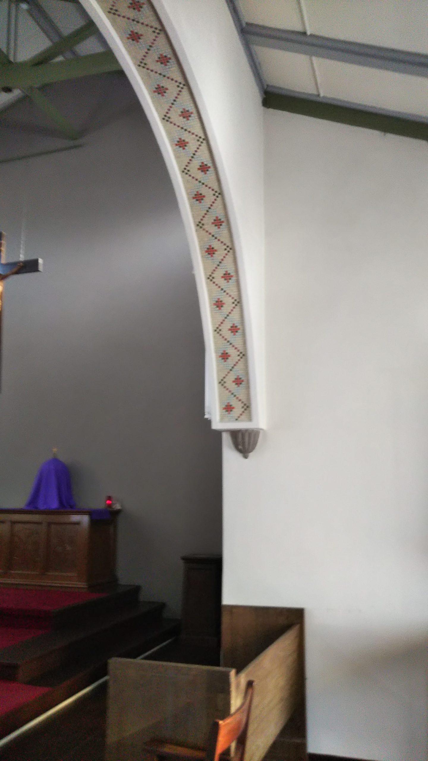 カトリック大津教会 タイル