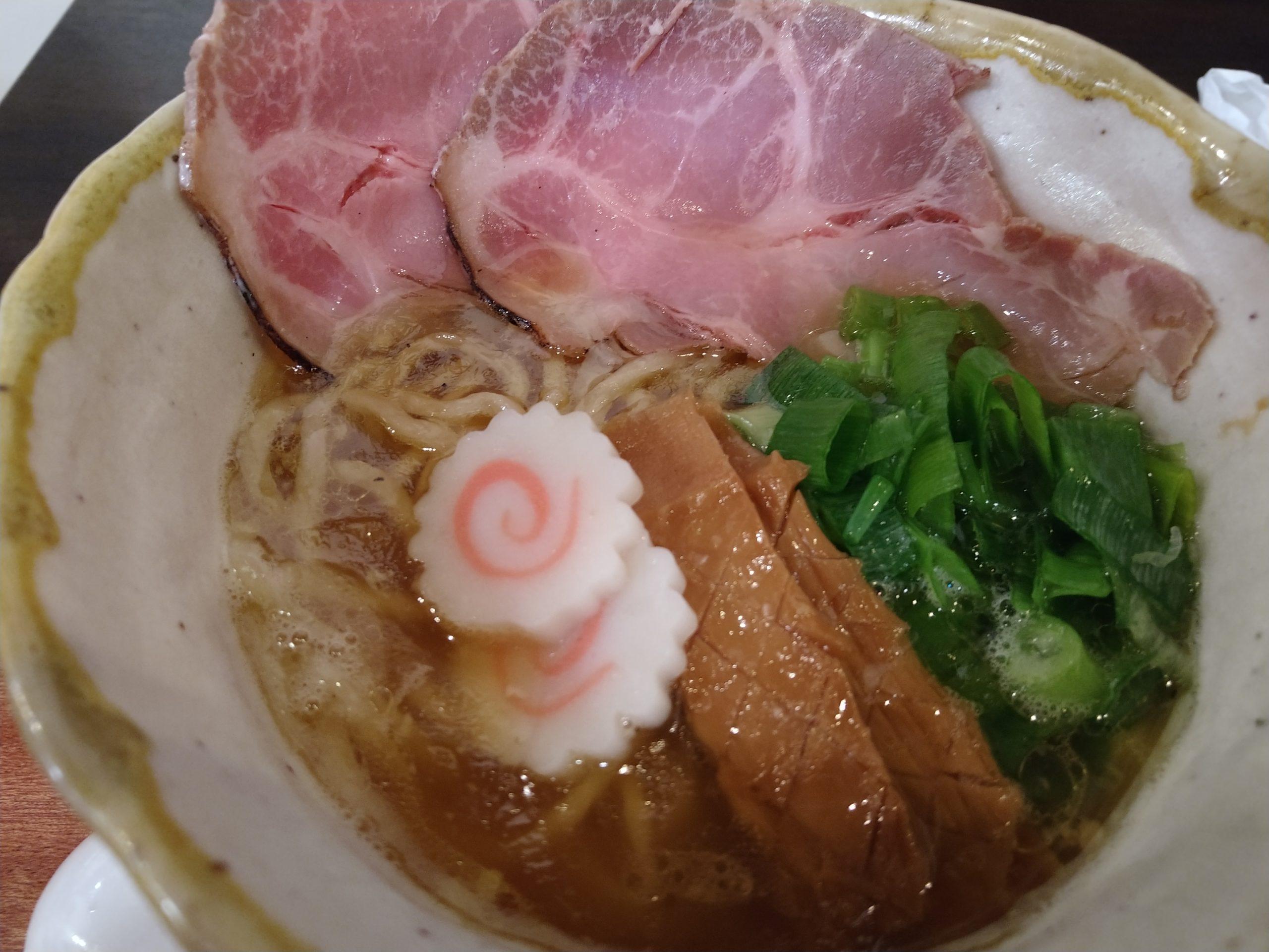 鈴庵2号店 鶏100%スープ ラーメン