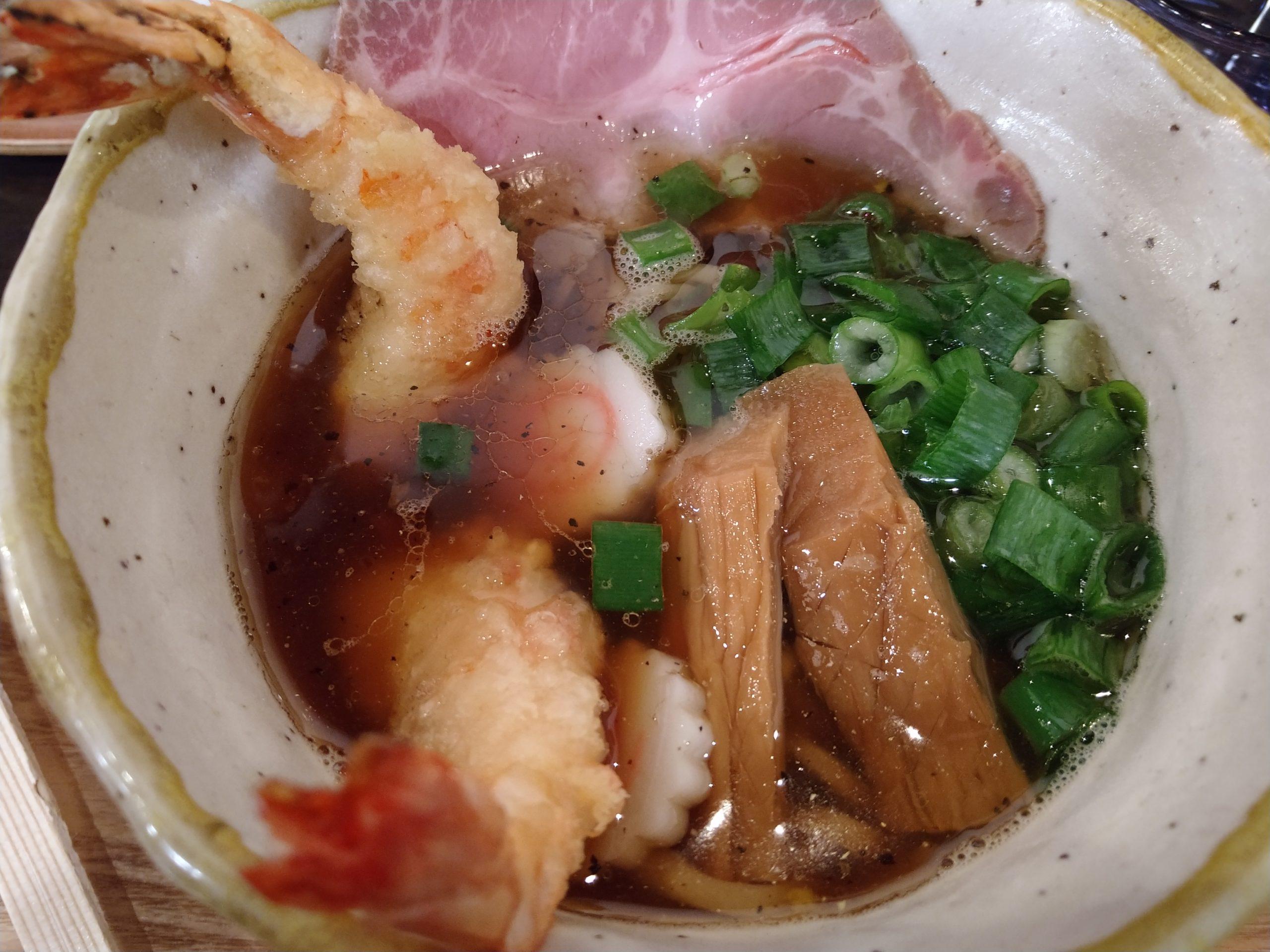 鈴庵2号店 和だしのみのスープ 天中華